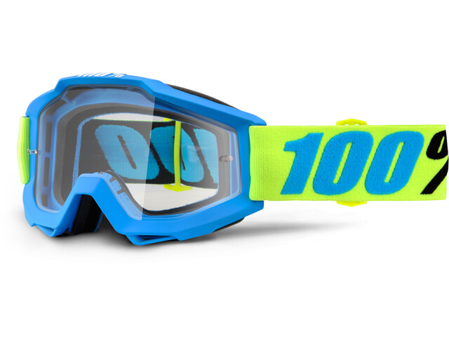 100% Accuri Anti Fog Clear Goggles belize